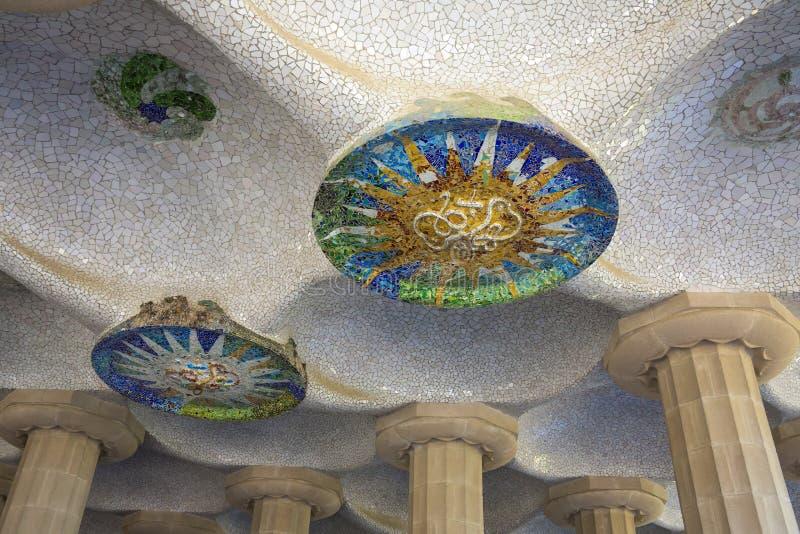 Parc Gueil - Barcelona - Spain royalty free stock photo