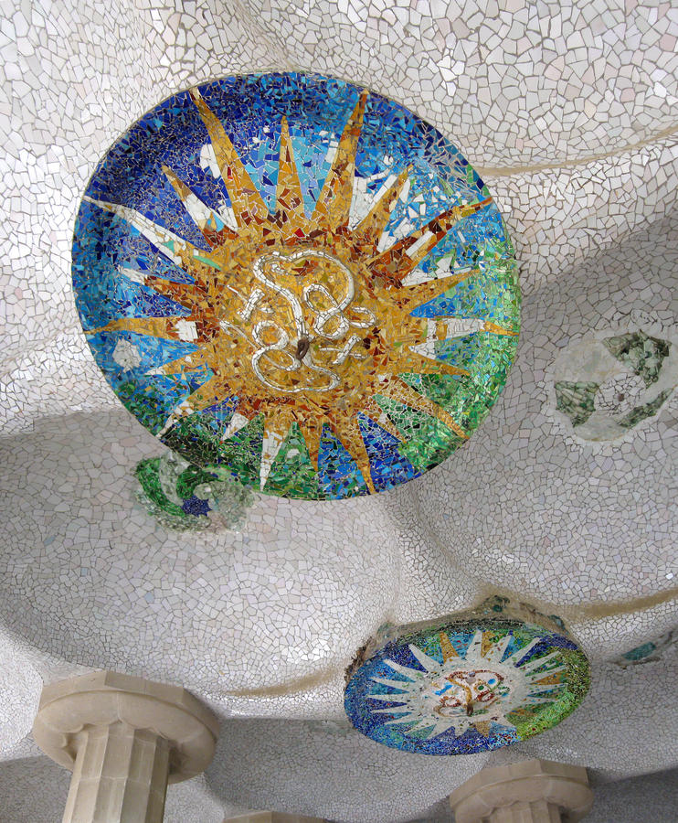 Download Parc Guell stock image. Image of beautiful, abstract - 17669451