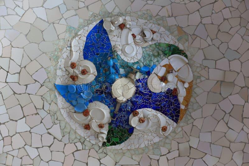 Parc Guell imagen de archivo