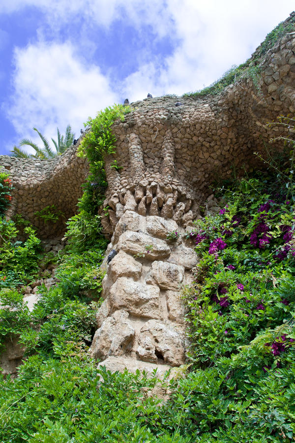Free Parc Guell Barcelona Royalty Free Stock Photography - 19807587