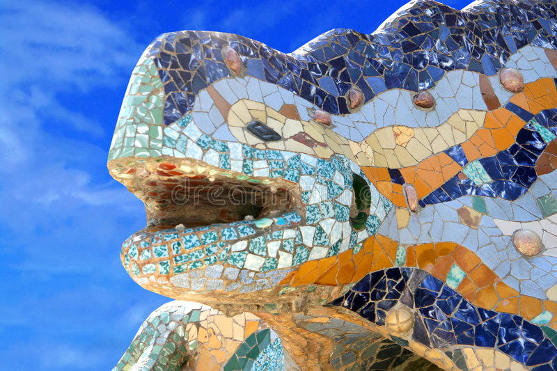 Download Parc Guell, Barcelona stock photo. Image of guell, spanish - 6103846