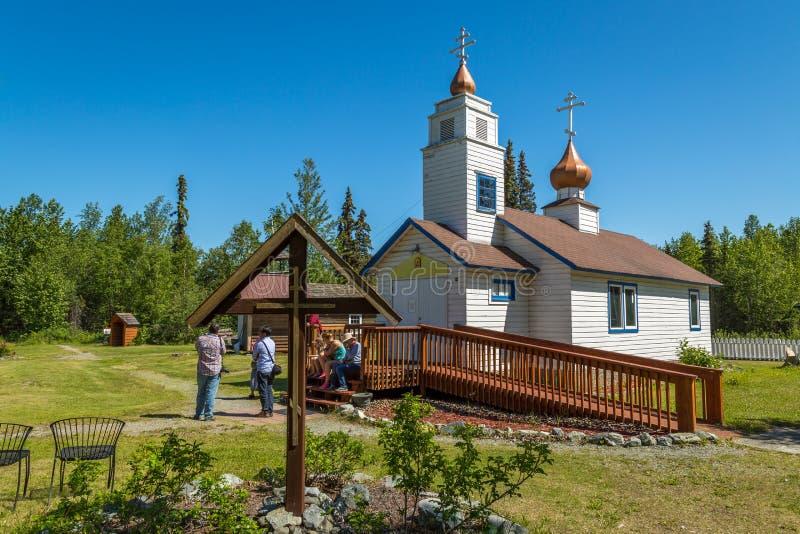 Parc historique d'Eklutna image libre de droits