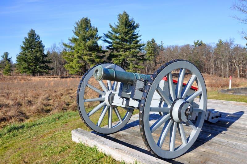 Parc historique national de Saratoga, New York, Etats-Unis photo libre de droits