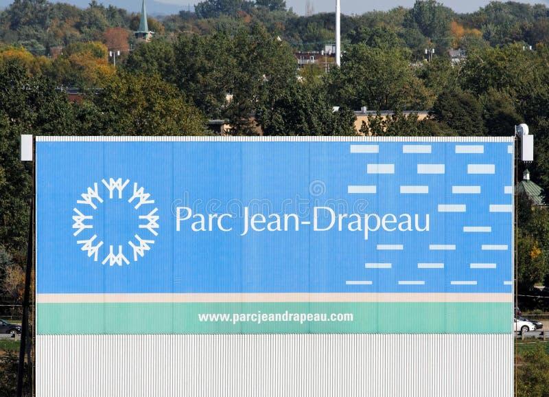 Parc Jean-Drapeau royaltyfri fotografi