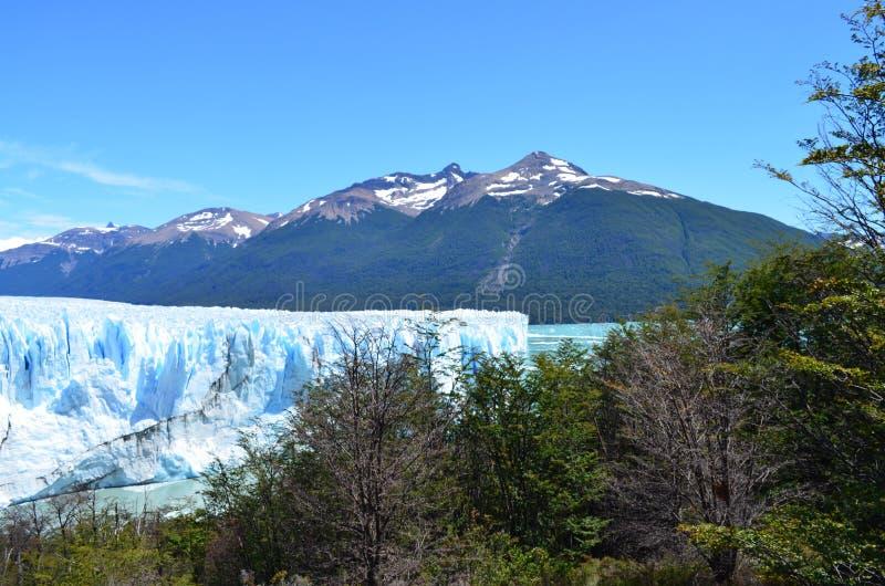 Parc Los nazionale Glaciares vicino al EL Calafate fotografia stock libera da diritti