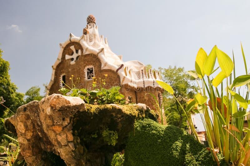 Parc Muzeum Guell zdjęcie royalty free