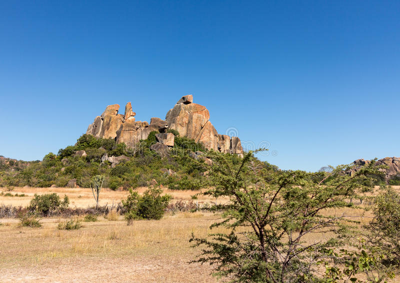 Parc national Bulawao Zimbabwe de Matobo photographie stock libre de droits