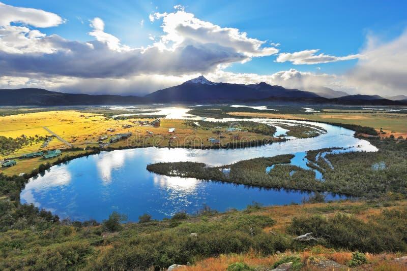 Parc national Chili - Torres del Paine photographie stock libre de droits