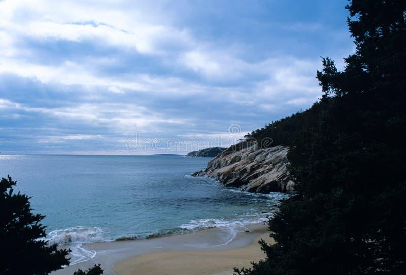 Parc national d'Acadia image libre de droits