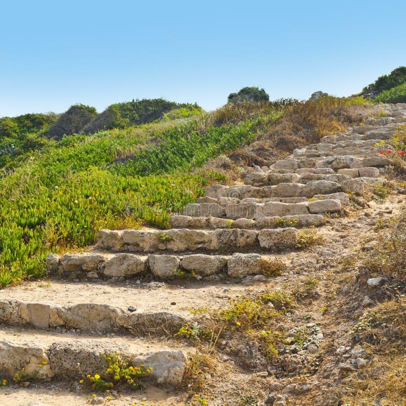 Parc national d'Apollonia d'Israélien image libre de droits