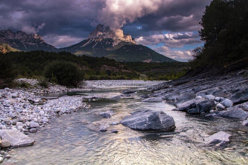 Parc national d'ordesa, Espagne images libres de droits