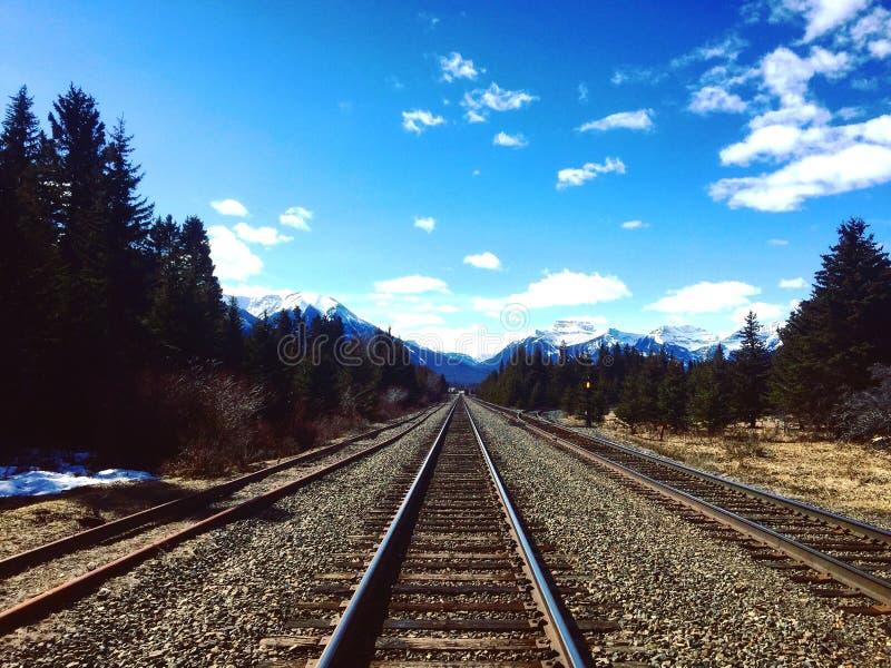 Parc national de Banff images libres de droits