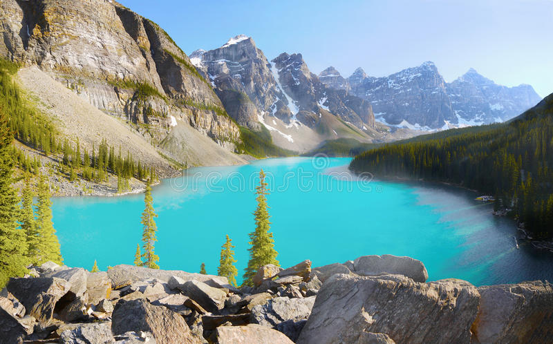 Parc national de Banff, Alberta, Canada photo stock