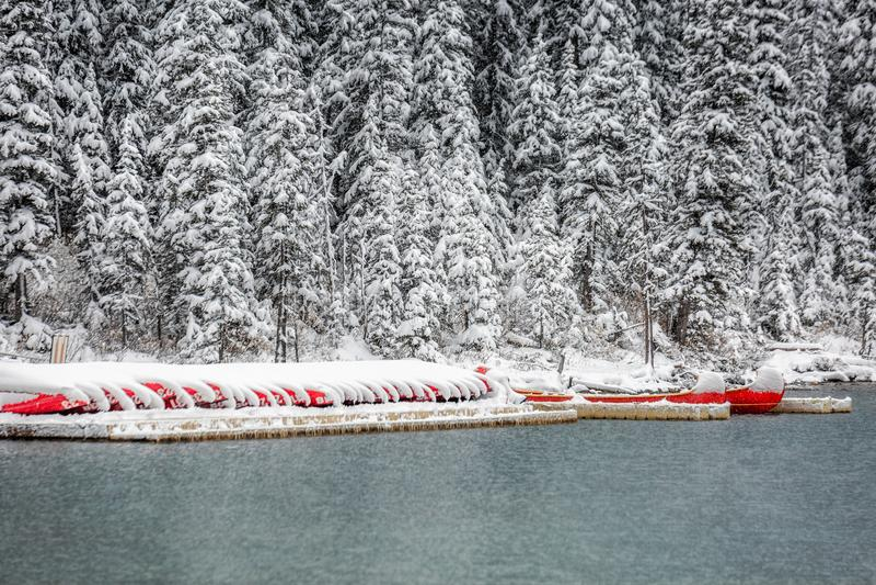 Parc national de Banff photographie stock