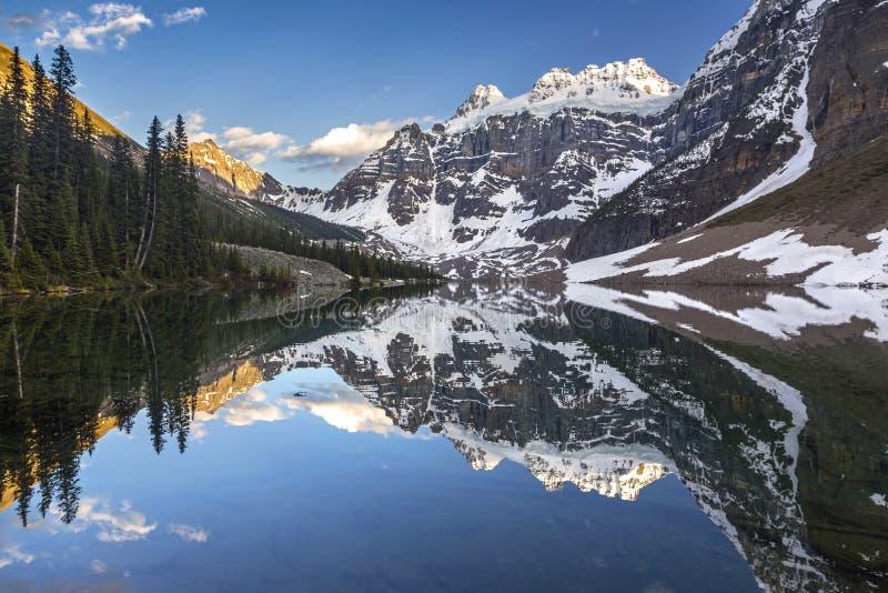 Parc national de Banff de lacs consolation photographie stock libre de droits