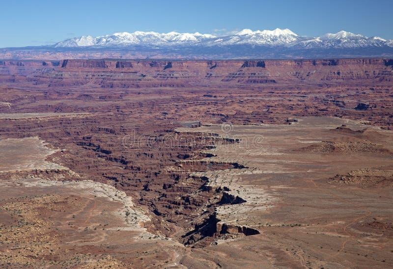 Parc national de Canyonlands images libres de droits