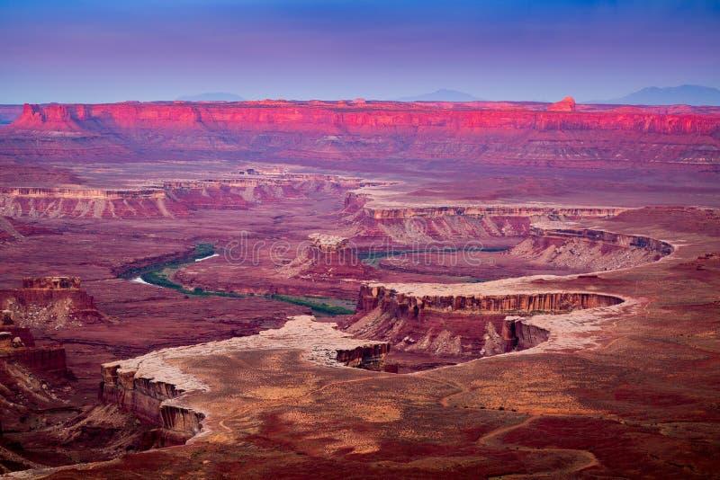 Parc national de Canyonlands photo libre de droits