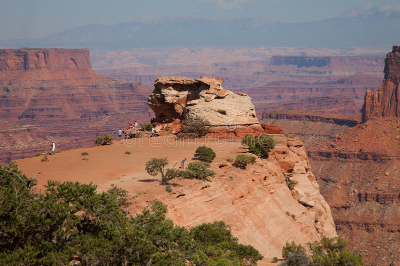 Parc national de Canyonlands photos libres de droits
