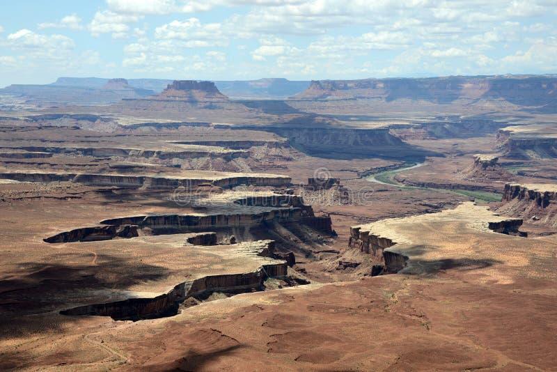 Parc national de Canyonlands en Utah image stock