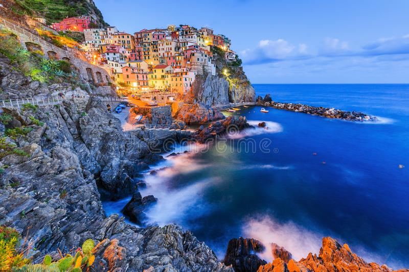 Parc national de Cinque Terre photographie stock libre de droits