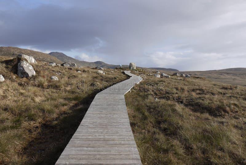 Parc national de Connemara photo libre de droits