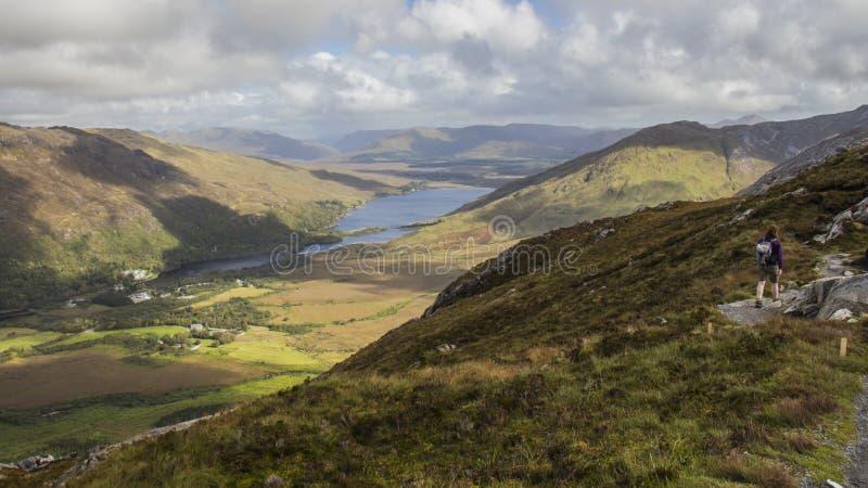 Parc national de Connemara - Irlande images stock