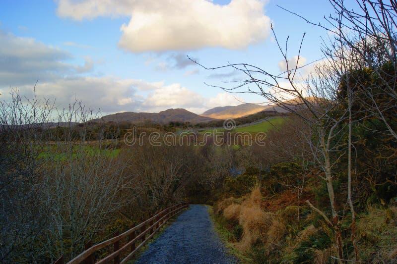 Parc national de Connemara, Irlande image libre de droits
