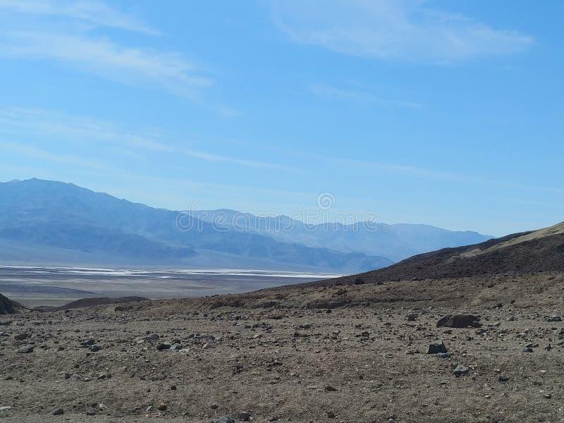 Parc national de Death Valley images libres de droits