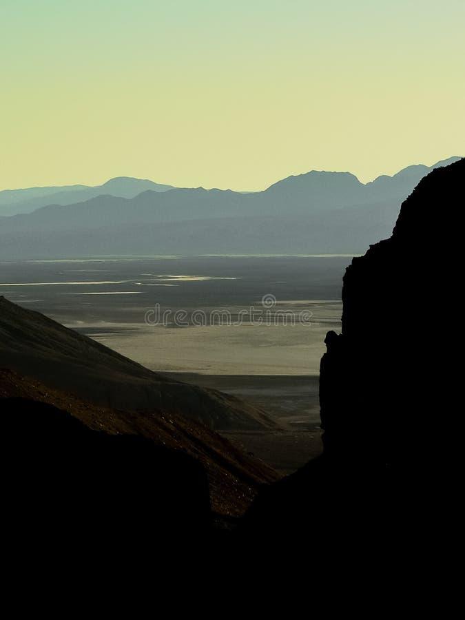 Parc national de Death Valley en à la Californie/au Nevada, Etats-Unis photo libre de droits