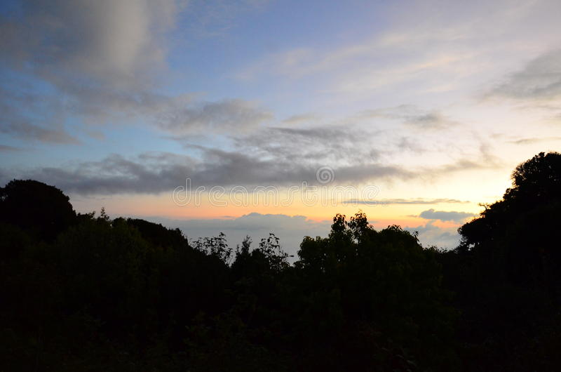Parc national de Doi Inthanon pendant le matin photo stock