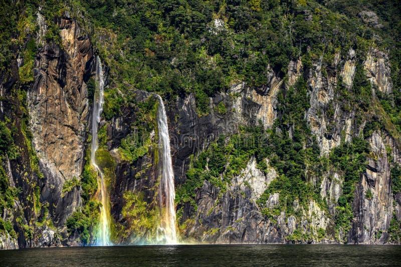 Parc national de Fiordland au Nouvelle-Zélande images stock