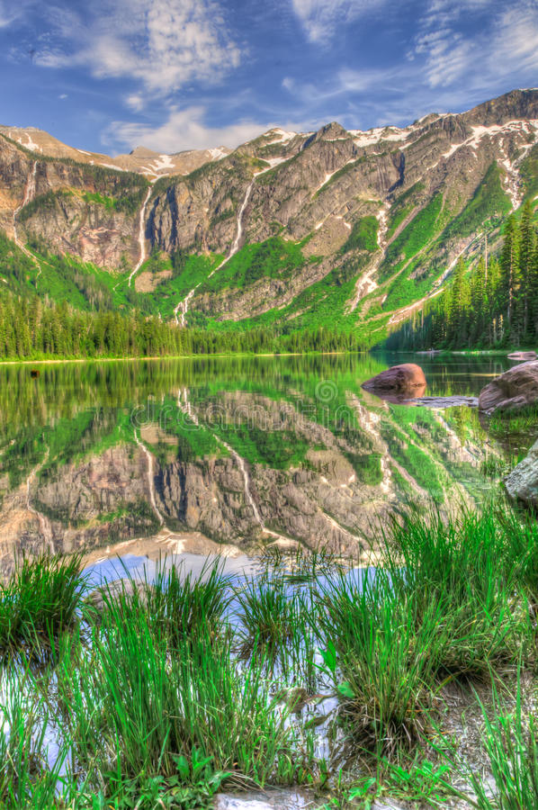 Parc national de glacier image libre de droits