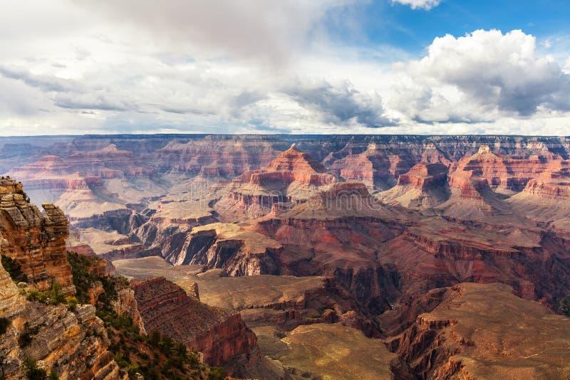 Parc national de Grand Canyon de vue scénique, Arizona, Etats-Unis Paysage de panorama photographie stock libre de droits