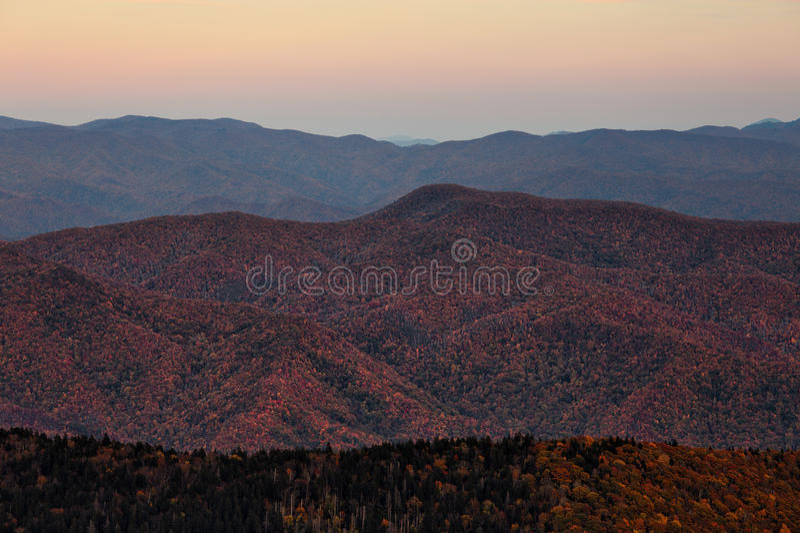 Parc national de Great Smoky Mountains photo stock