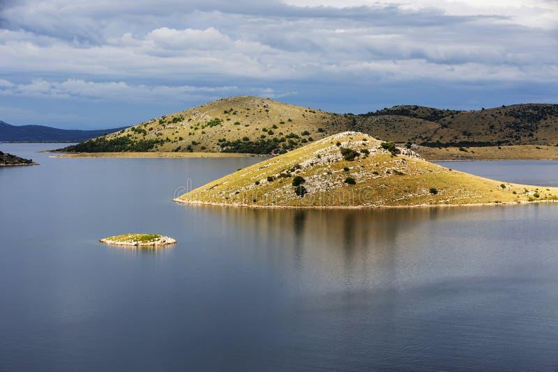 Parc national de Kornati image libre de droits
