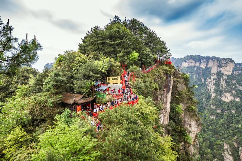 Parc national de la Chine, Zhangjiajie photographie stock