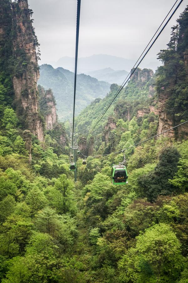 Parc national de la Chine, Zhangjiajie photo stock
