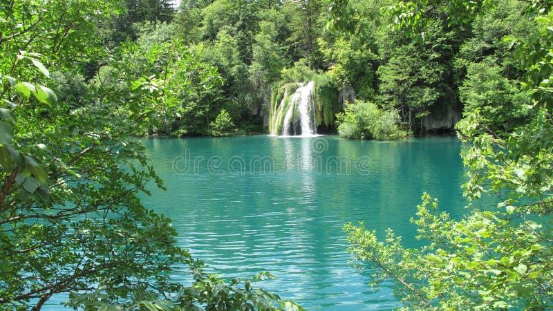 Parc national de la Croatie, lacs Plitvice (2011) [1] photo stock