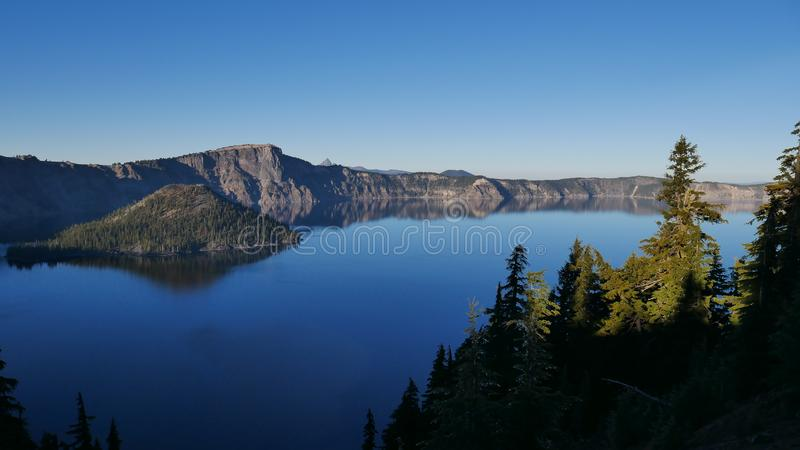 Parc national de lac crater photos stock