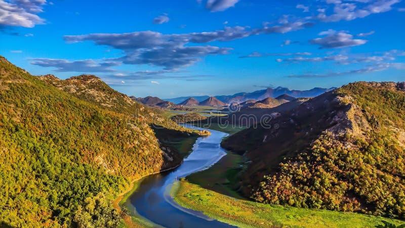 Parc national de lac Scadar images libres de droits