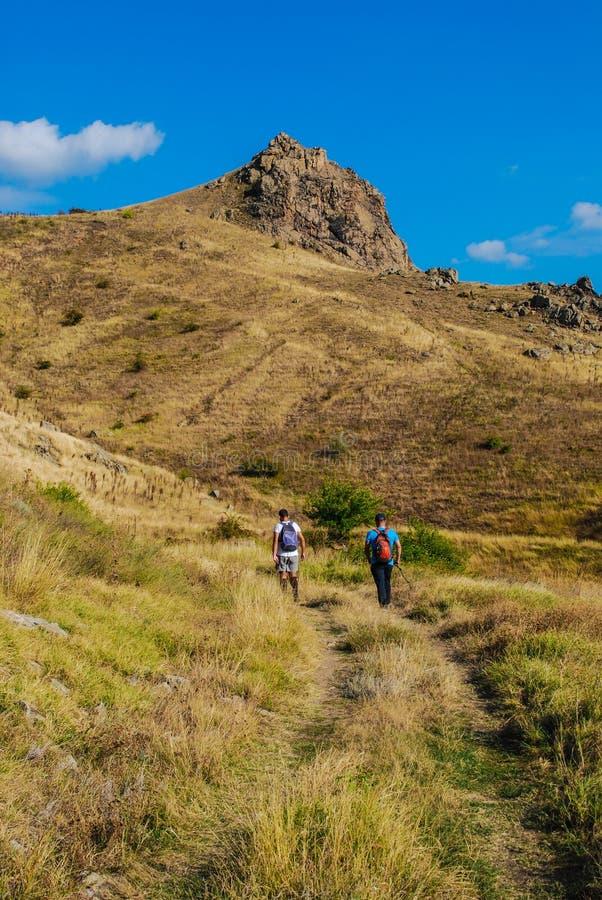 Parc national de montagnes de Macin photographie stock