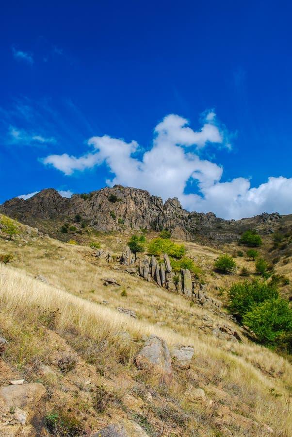 Parc national de montagnes de Macin images stock