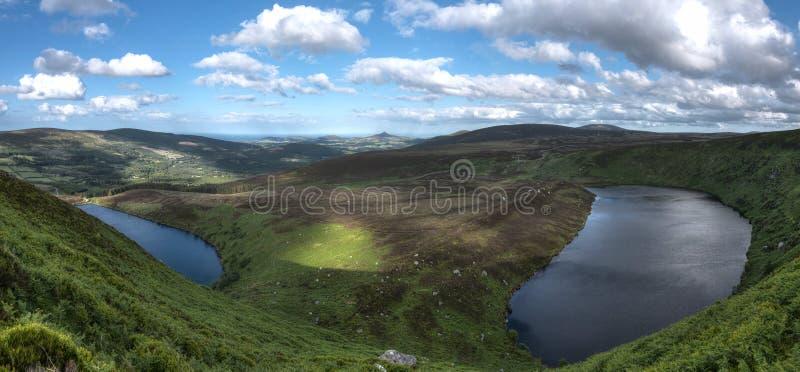 Parc national de montagnes de Wicklow photo libre de droits
