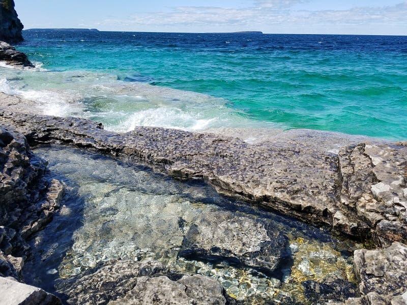 Parc national de péninsule de Bruce photo libre de droits
