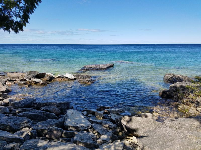 Parc national de péninsule de Bruce images stock