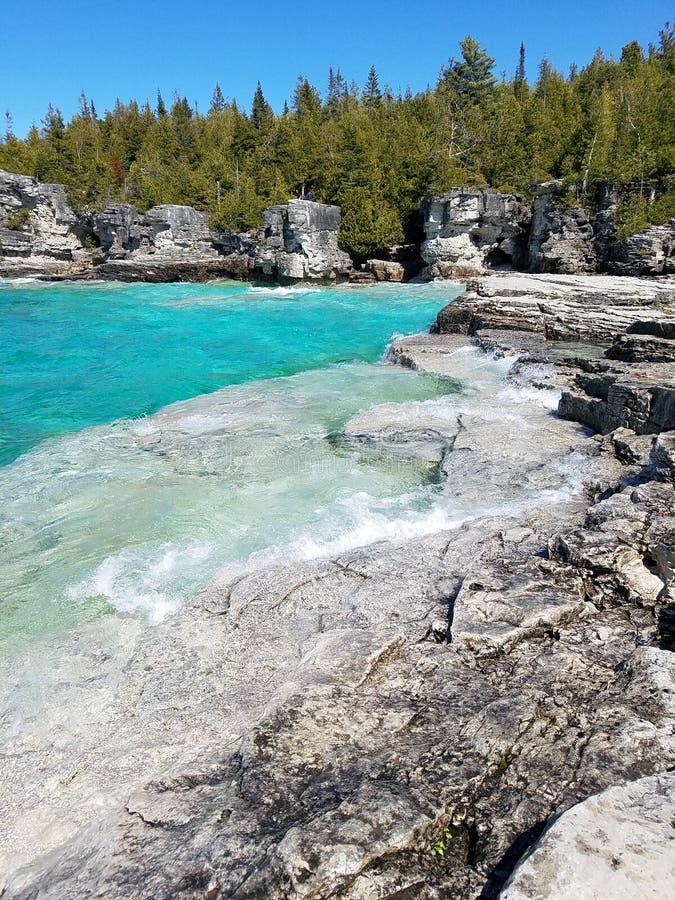 Parc national de péninsule de Bruce images libres de droits