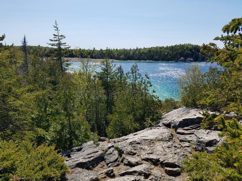 Parc national de péninsule de Bruce photographie stock libre de droits