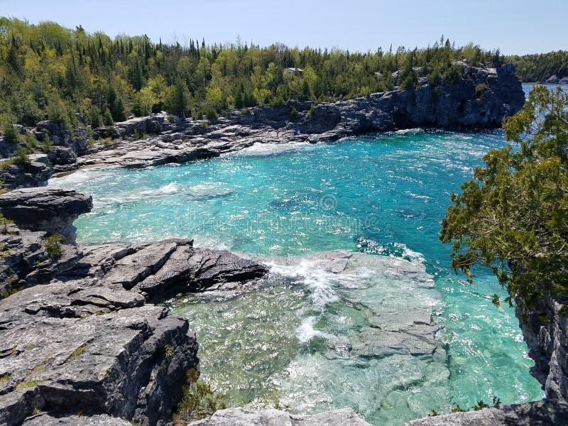Parc national de péninsule de Bruce photos stock