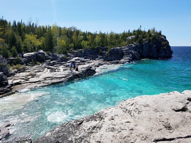 Parc national de péninsule de Bruce photos libres de droits
