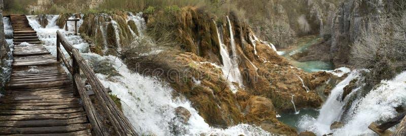 Parc national de Plitvice images stock